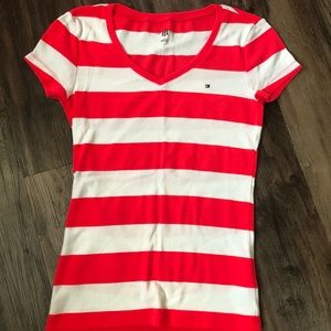 Gently Worn Tommy Hilfiger Striped Shirt M